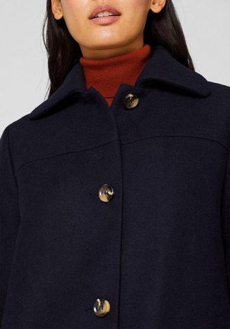 ESPRIT Vilnonis paltas