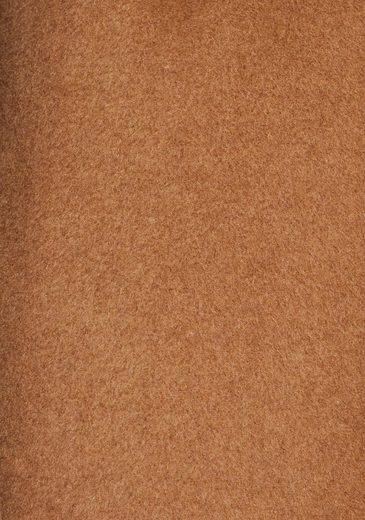 Esprit Collection Wollmantel (mit Bindegürtel) in modischer Blazer-Form