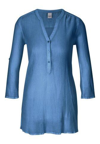 CASUAL блуза с закатанные рукава