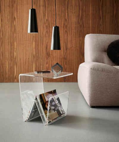 Places of Style Zeitungsständer »Remus«, mit Ablage aus Acrylglas