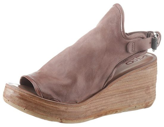 A.S.98 Sandalette mit biegsamem Draht im Schaftrand
