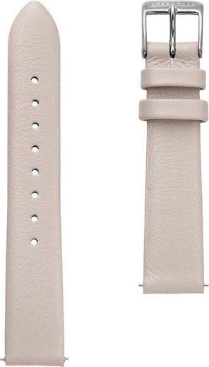 STERNGLAS Uhrenarmband »Klassik 16 zement silber, SBA00/601«