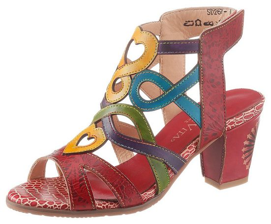 LAURA VITA »Hucto« Sandalette in toller Farbkombi