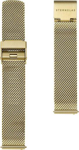 STERNGLAS Uhrenarmband »Milanaise 16 c/gold, SBA00/406«