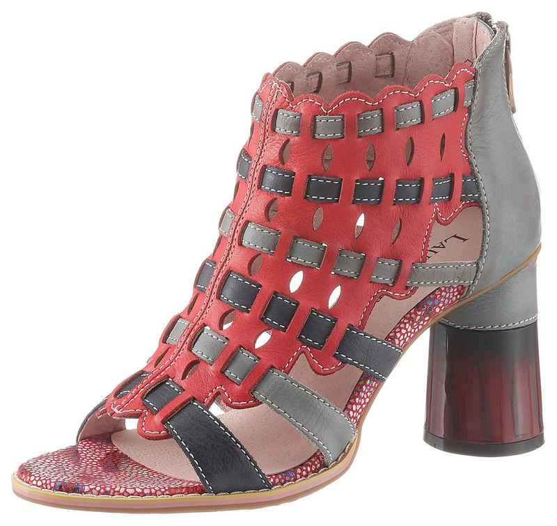 LAURA VITA »Gucstoo« Sandalette in auffälliger Optik