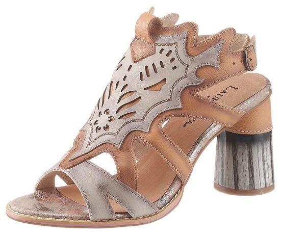 LAURA VITA »Gucstoo« Sandalette mit extravaganten Lasercut
