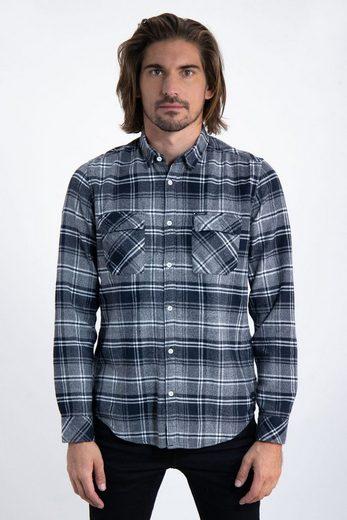 Schlussverkauf Garcia Langarmhemd mit Brusttaschen
