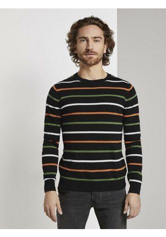 Пуловер с круглым вырезом »gestr...