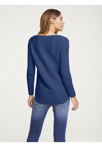 HEINE CASUAL пуловер в Rippenstrick