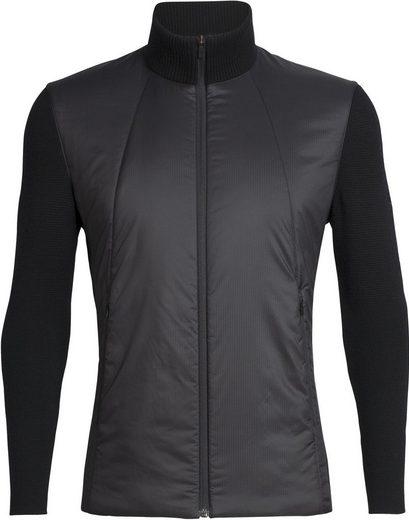 Icebreaker Outdoorjacke »Lumista Hybrid Sweater Jacke Herren«
