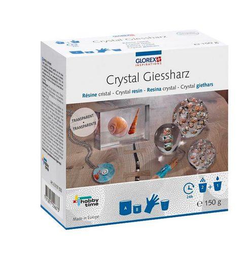 "Crystal-Gießharz ""transparent"" 8 Teile"
