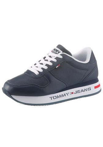 TOMMY JEANS TOMMY джинсы кроссовки на танкетке &ra...