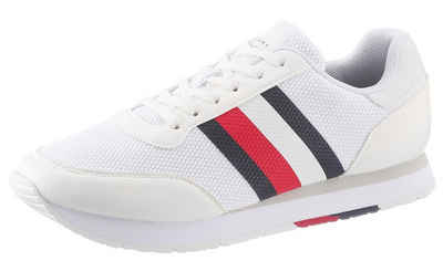 TOMMY HILFIGER »CORPORATE MATERIAL MIX RUNNER« Sneaker mit Futter aus recycled Polyester