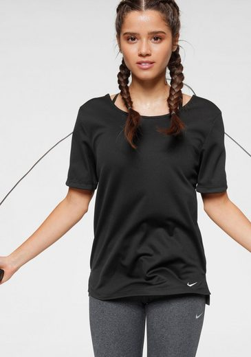 Nike Funktionsshirt »W Nike Dry Shortsleeves Top Elastika«