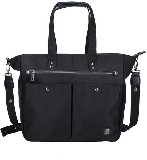 Vadobag Wickeltasche »Casual Chic, black«