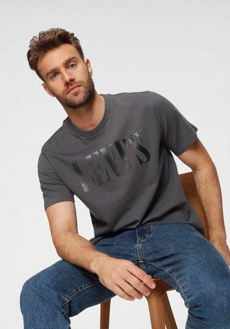 LEVI'S ® Marškinėliai »SERIF«