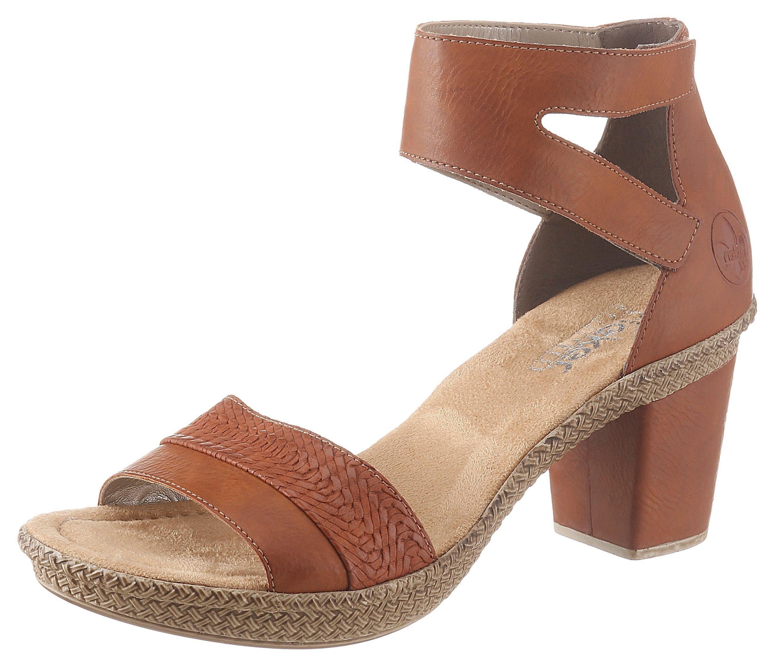 Rieker Sandalette mit Klettverschluss, In eleganter Optik online kaufen | OTTO