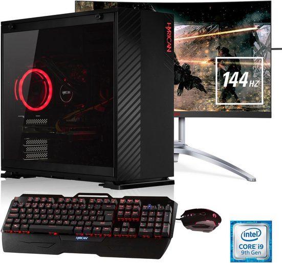 """Hyrican »Hyrican Alpha 6451« PC-Komplettsystem (27"""", Intel Core i9, 32 GB RAM, 1000 GB HDD, 480 GB SSD)"""