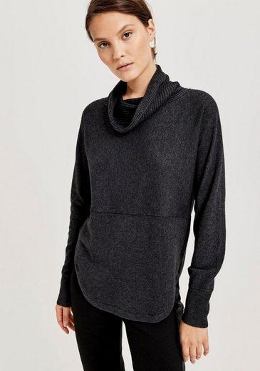 OPUS Rollkragenpullover »Pia« im klassichen minimalistichen Look
