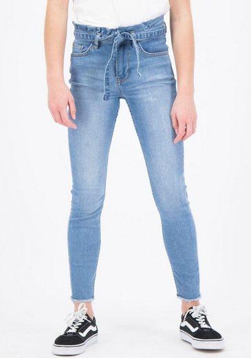 Garcia Stretch-Jeans »GS020124« (Set, mit Bindeband)