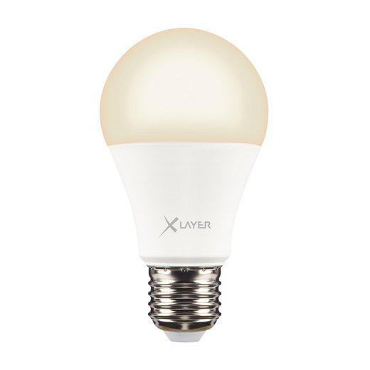 XLAYER LED »XLayer Smart Echo E27 9W 800lm Warm- und Kaltweiß«
