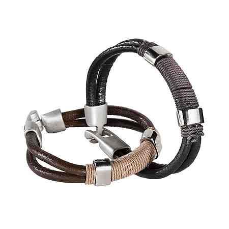 Schmuck: Hier finden Sie maskuline und lässige Halsketten, Armbänder und Ringe für Herren.