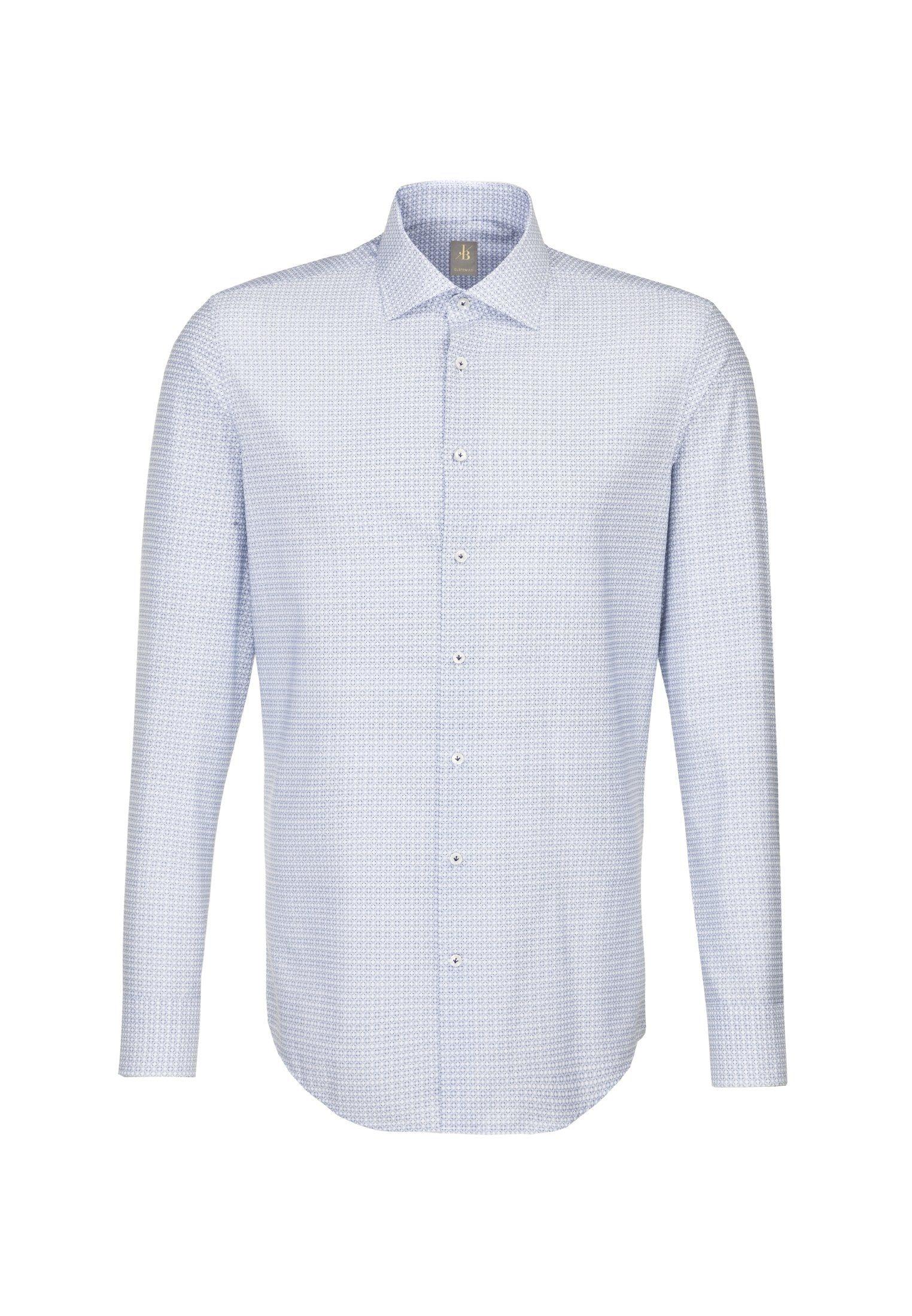 Casa Moda Modern Fit Premium Langarmhemd in Streifen Floral