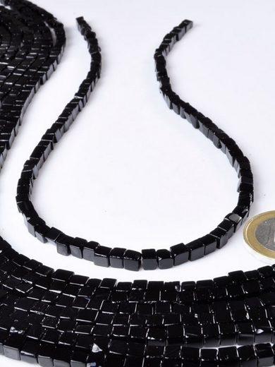 Adelia´s Kette ohne Anhänger »Onyx Steinstrang - 40 cm«