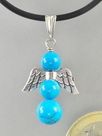 Adelia´s Kette ohne Anhänger »Türkis Stein Halskette - Engel - 42 cm«