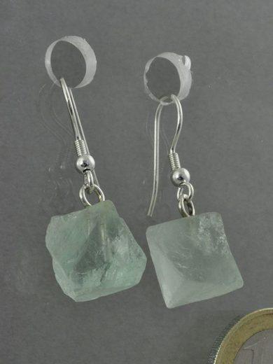 Adelia´s Paar Ohrhänger »Fluorit Ohrschmuck Ohrhänger«