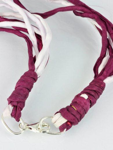 Adelia´s Kette ohne Anhänger »Rosenquarz Stein Halskette«