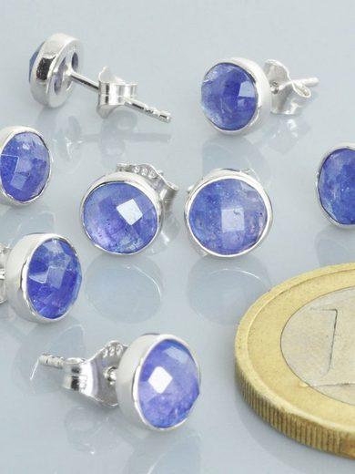 Adelia´s Paar Ohrhänger »Tansanit Ohrschmuck / Ohrhänger - 925 Silber«