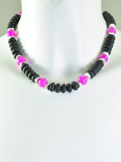 Adelia´s Kette ohne Anhänger »Lava Stein Halskette - 42 cm«