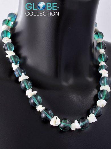 Adelia´s Kette ohne Anhänger »Fluorit Stein Halskette«