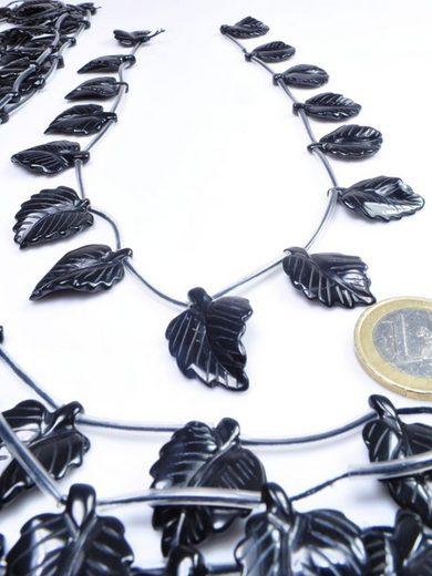 Adelia´s Kette ohne Anhänger »Onyx Motiv Steinstrang - 40 cm«