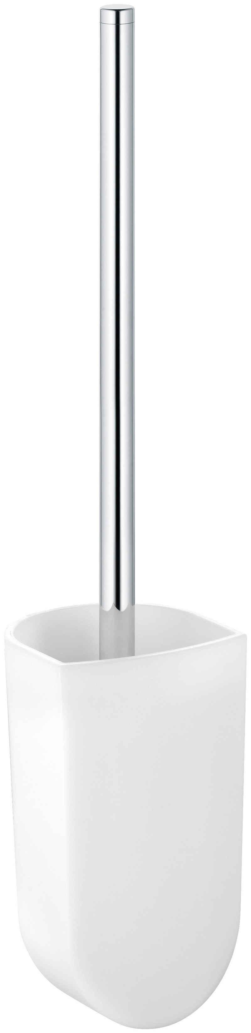 WC-Garnitur »Elegance«, Keuco, mit Glas-Einsatz mattiert, verchromt