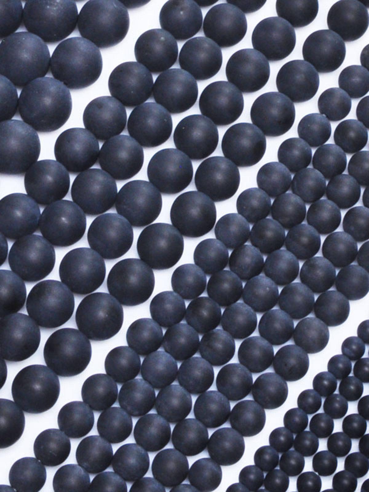 19mm schwarz-blau gepunktet 1 Dragonball ca