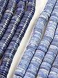 Adelia´s Kette ohne Anhänger »Blauquarz Linsen & Discs Steinstrang - 40 cm«, Bild 2