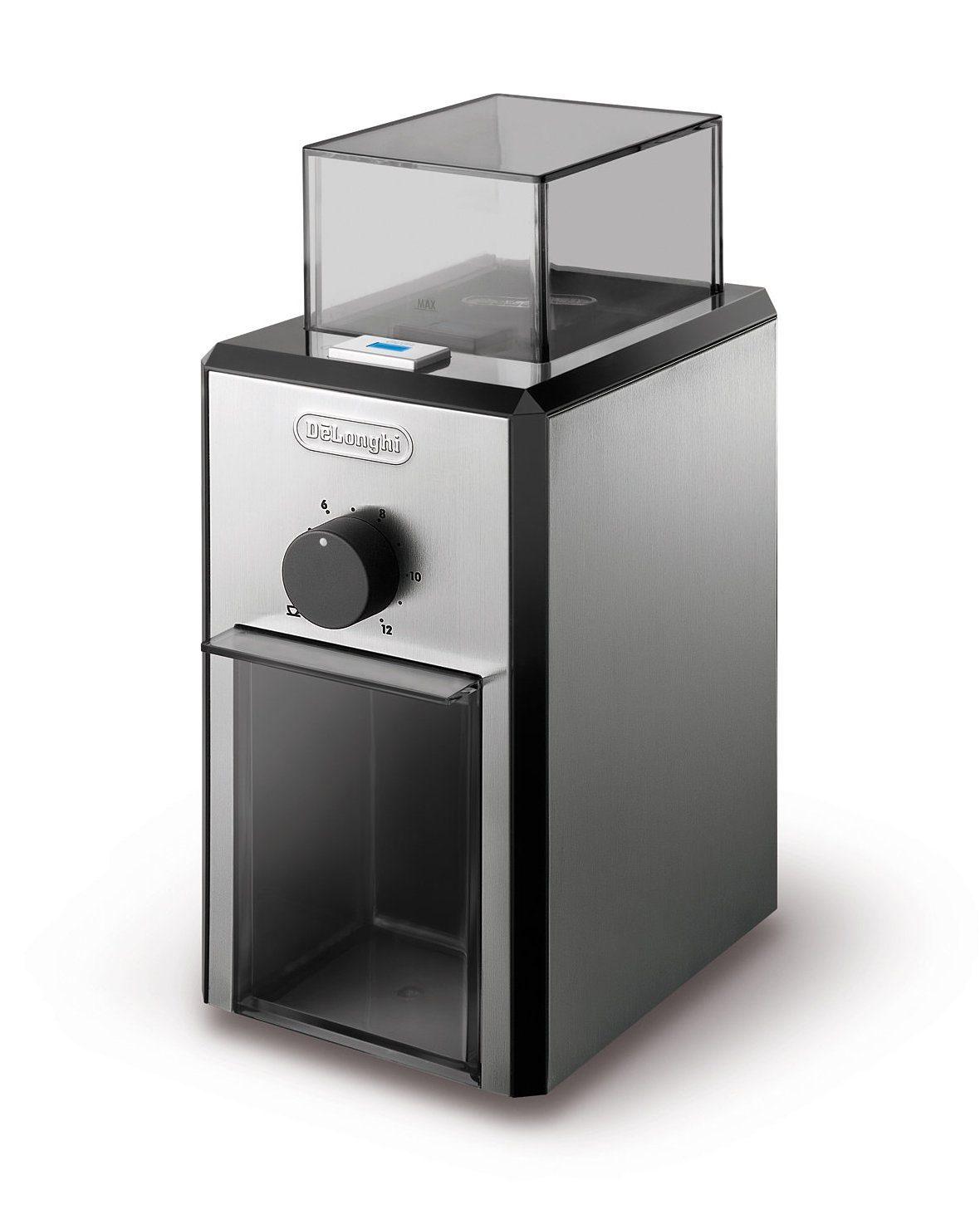 De'Longhi elektrische Kaffeemühle »KG89« mit hochwertigem Scheibenmahlwerk, 120gr. Bohnenbehälter
