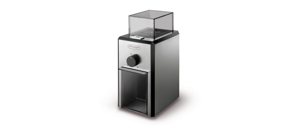 De'Longhi elektrische Kaffeemühle »KG89« mit hochwertigem Kegelmahlwerk, 120gr. Bohnenbehälter
