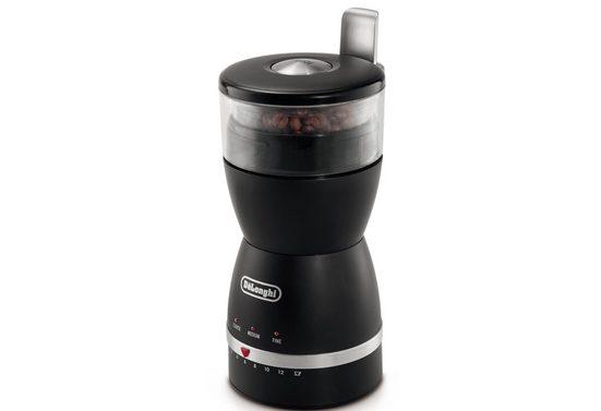 De'Longhi Kaffeemühle KG49, 170 W, Schlagmahlwerk, 90 g Bohnenbehälter