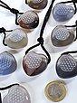 Adelia´s Kette ohne Anhänger »Achat Stein Halskette - Herz - 40 cm«, Bild 1
