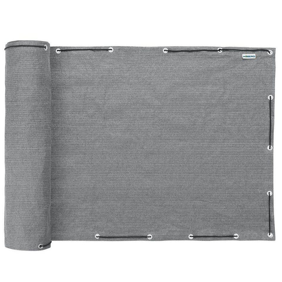Hoberg Sicht Und Windschutz In Grau Ideal Fur Balkon Und