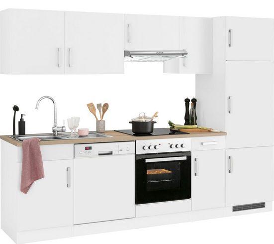HELD MÖBEL Küchenzeile »Gera«, ohne E-Geräte, Breite 270 cm