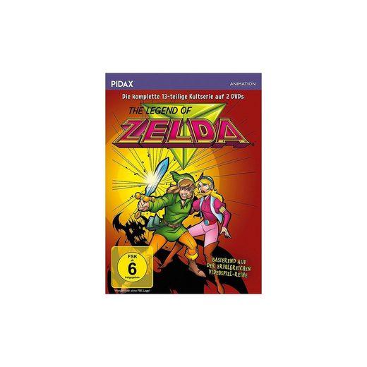 DVD The Legend of Zelda - Die komplette 13-teilige Kultserie