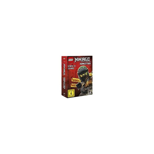 LEGO® DVD Ninjago - Komplettbox - Season 1-6 (13 DVDs)