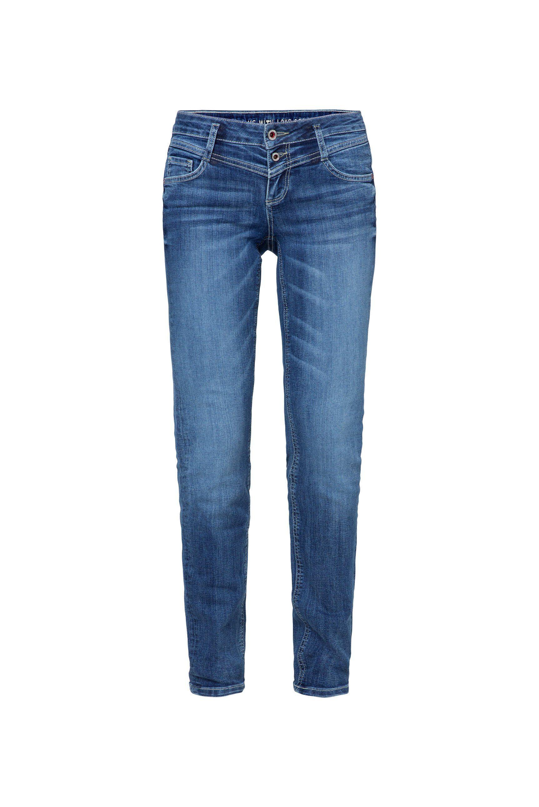 SOCCX Slim-fit-Jeans KA:RA mit Stretch-Anteil