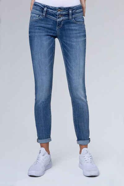 SOCCX Slim fit Jeans »KA:RA« mit Stretch Anteil