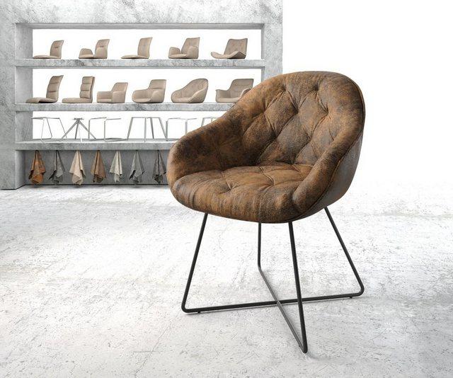 Stühle und Bänke - DELIFE Armlehnstuhl Gaio Flex Polsterstuhl  - Onlineshop OTTO