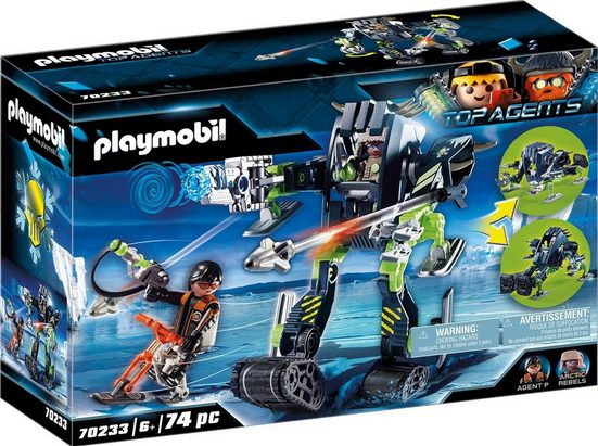 Playmobil® Konstruktions-Spielset »Arctic Rebels Eisroboter (70233), Top Agents«, (74 St), ; Made in Germany